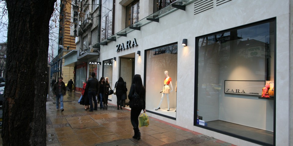 Zara Store Sofia